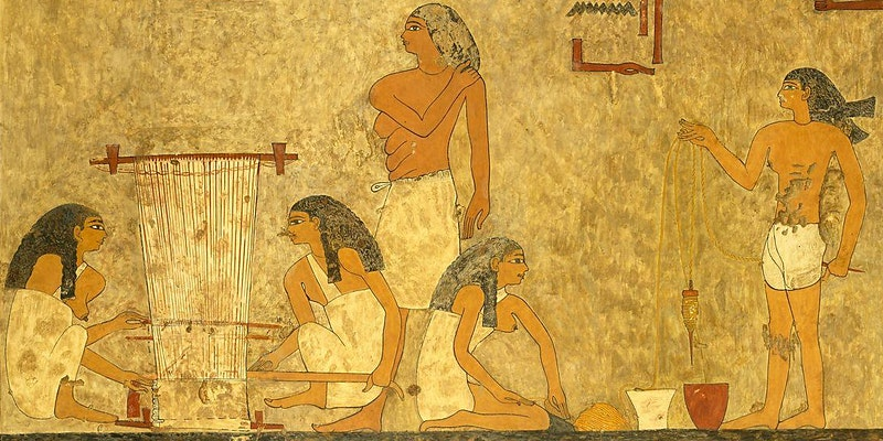 Explore with Me: Textiles and Ancient Egypt