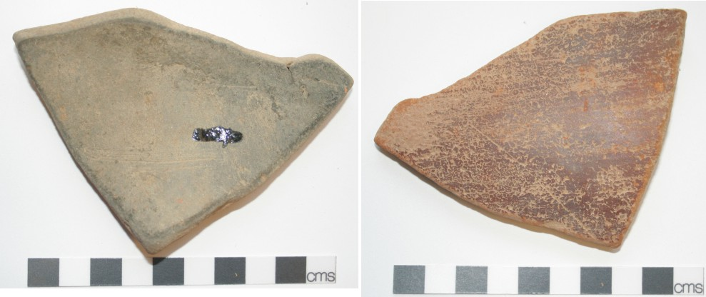 Image for: Body sherd of a pottery vessel used as a spade sherd