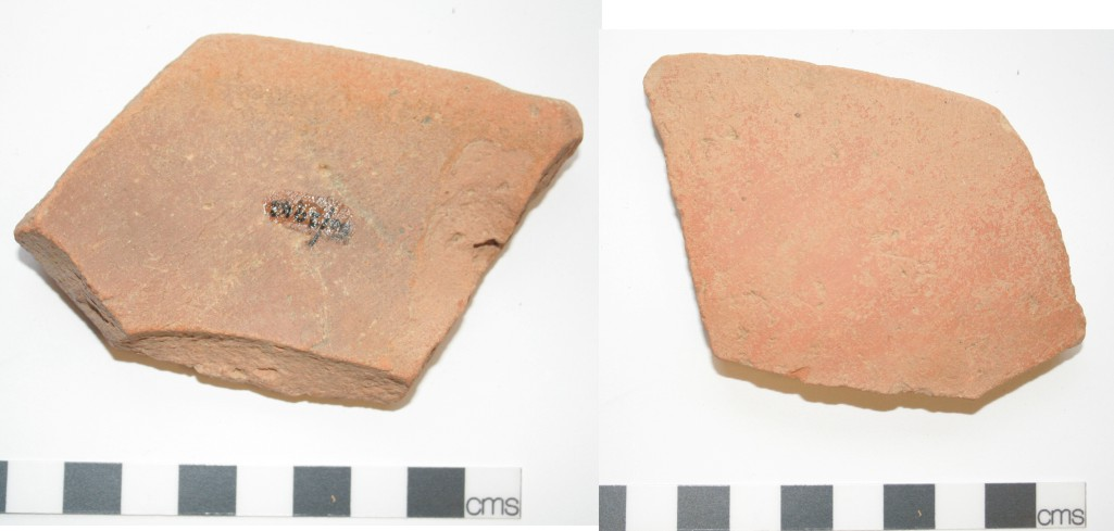 Image for: Rim sherd of a pottery vessel used as a spade sherd