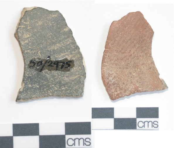 Image for: Body sherd of a pottery vessel