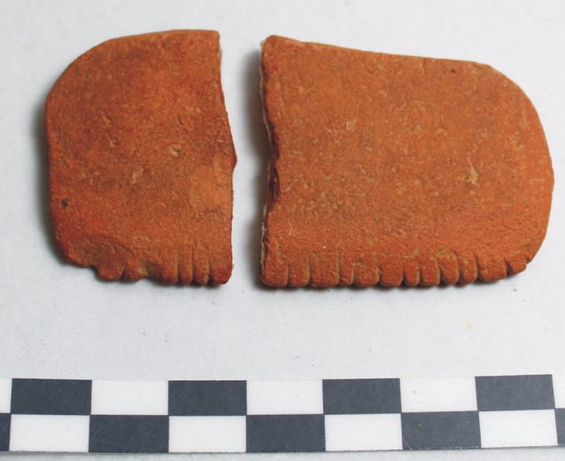 Image for: Sherds of a pottery