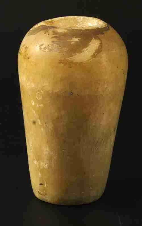Image for: Travertine jar