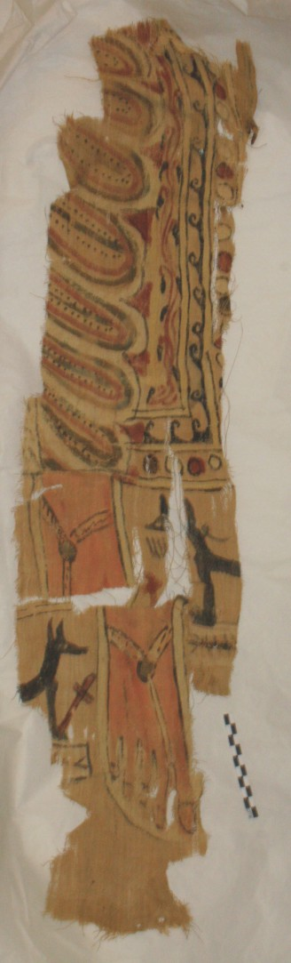Image for: Fragment of a linen shroud