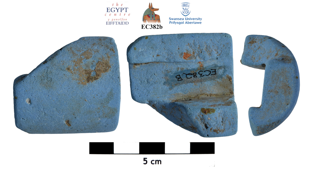 Image for: Faience object