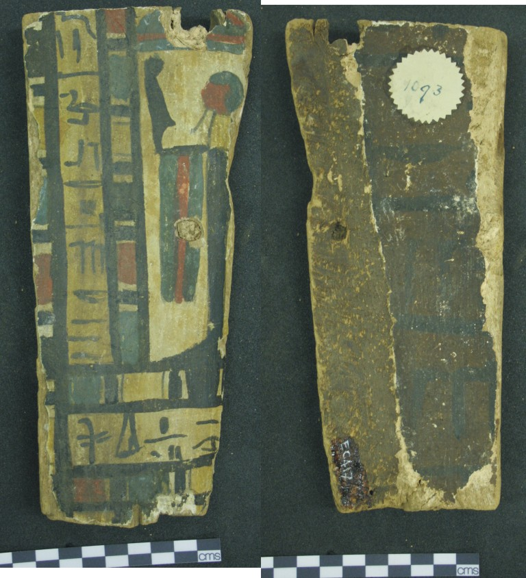 Image for: Fragment of a coffin