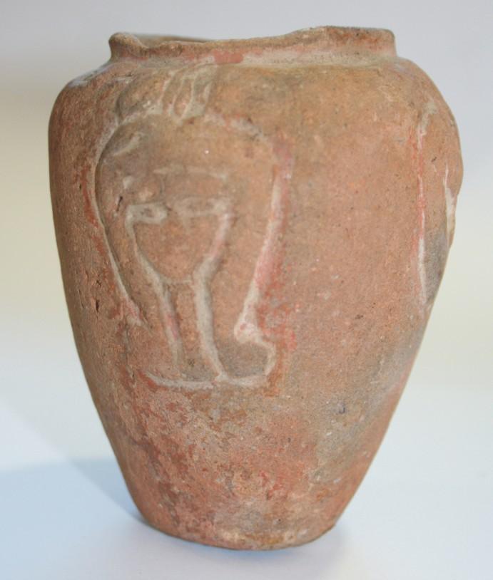 Image for: Hathor vase