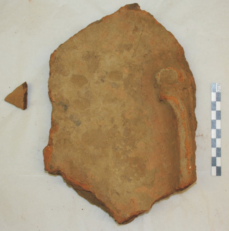 Image for: Fragment of an offering tray