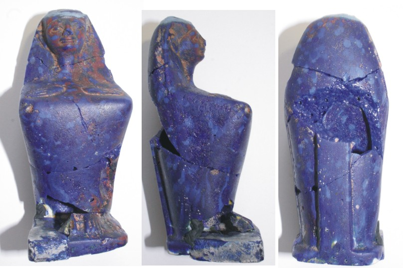 Image for: Statue of a seated figure