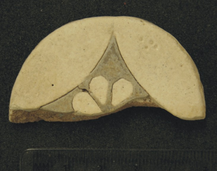 Image for: Fragment of a daisy tile