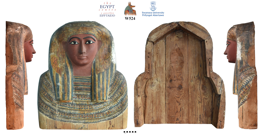 Image for: Fragment of a mummy case