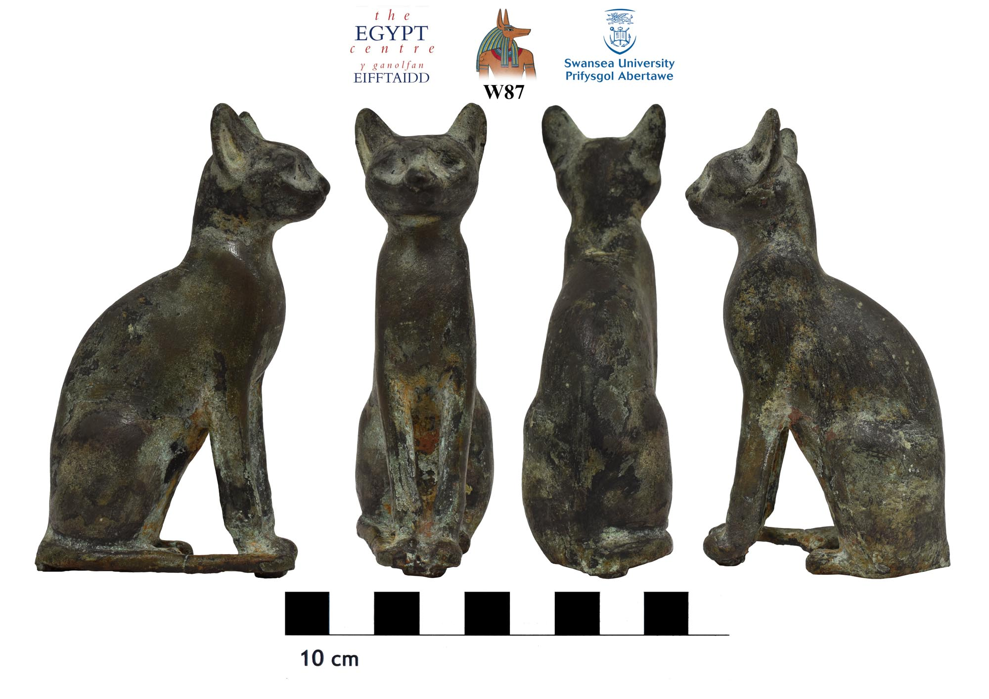 Image for: Statue of a cat