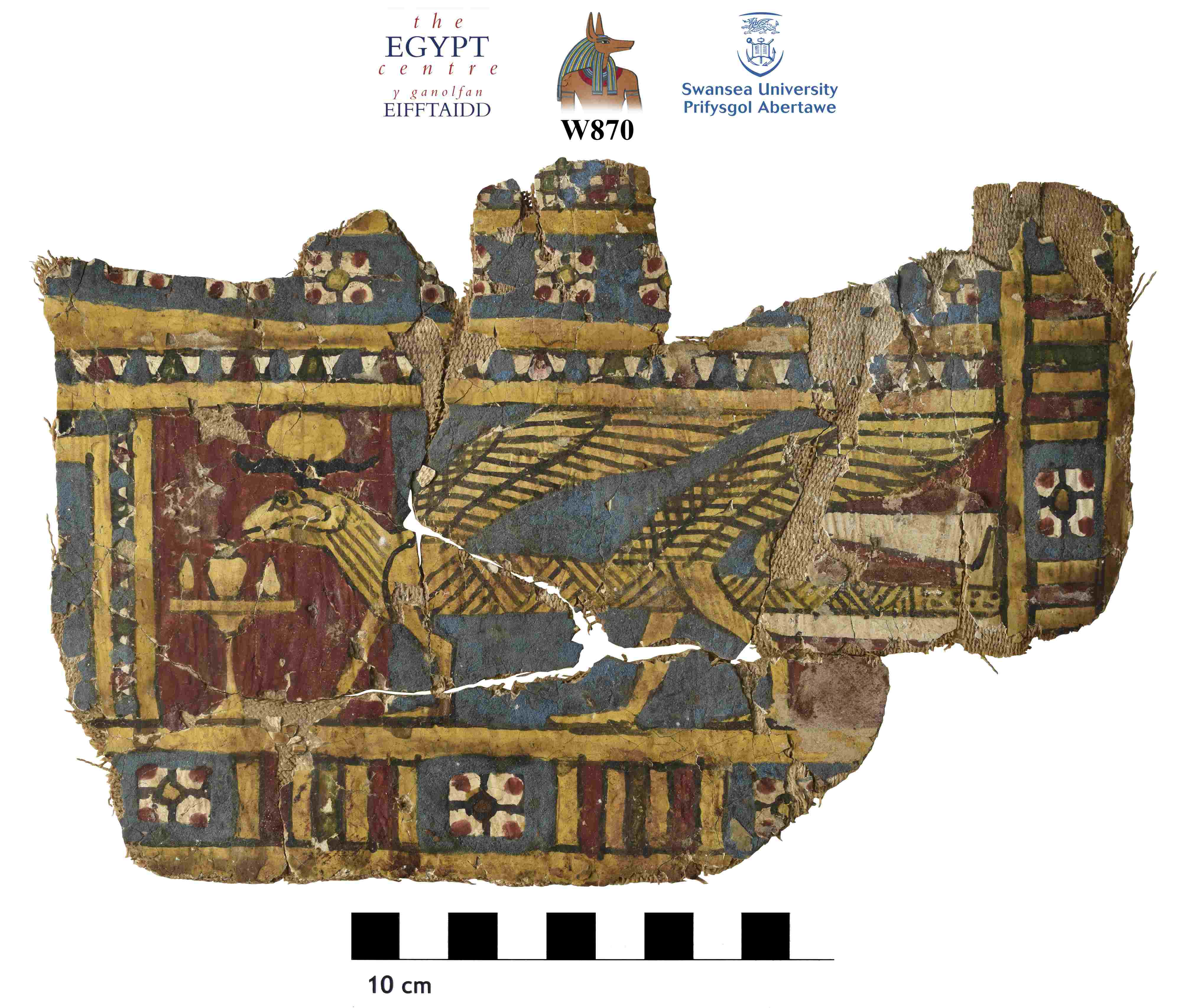 Image for: Fragment of cartonnage