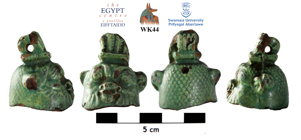 Image for: Faience Bes-bell